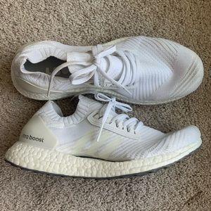 Adidas Knit Ultraboost Triple White